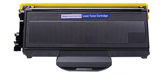 Cartouche laser Brother TN-360 compatible noir